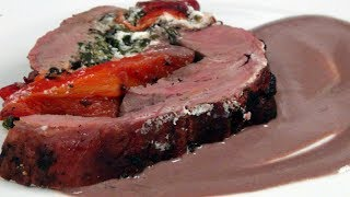 Stuffed Beef Tenderloin - Smoked On The Kamado Grill