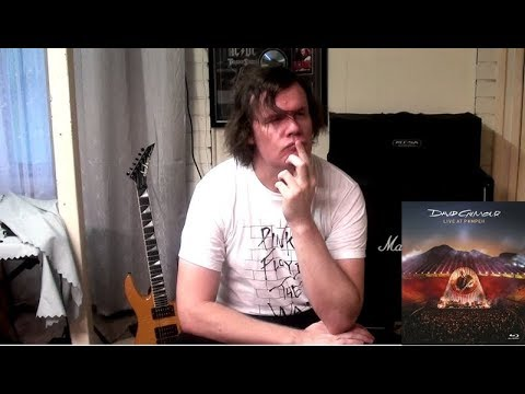 DAVID GILMOUR- LIVE AT POMPEII Fix It In The Mix Album Reviews Episode 3