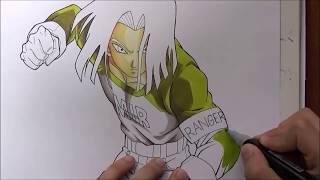 Como Dibujar a No. 17 - Como Dibujar al ANDROIDE 17 de Dragon Ball Super. How to Draw a17