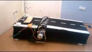 energy generation using speed breakers