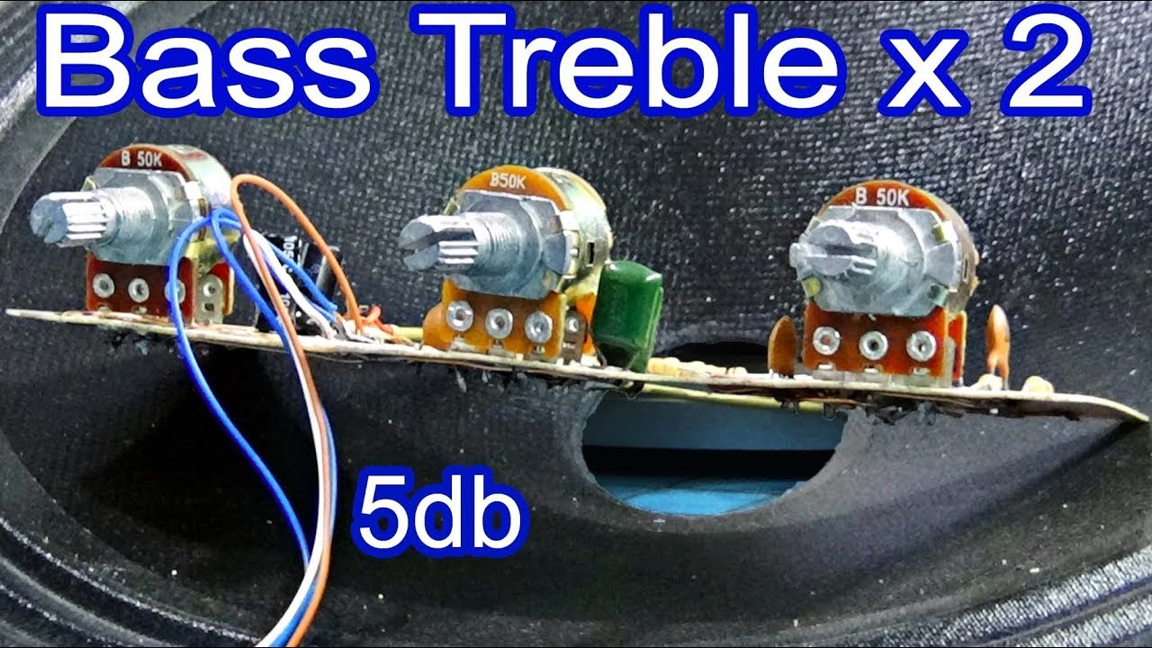 How To Add A Volume Control The Amplifier Hi Fi Bass Treble Simple Audio Preamp Circuit Schematic Diagram Make 3