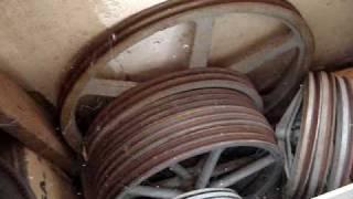 huge V belt pulleys