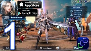 Heroes of Chaos - Fallen Angel Android iOS Walkthrough - Gameplay Part 1 -