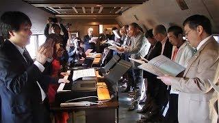 復興応援歌を乗せて走る 千年ものがたり企画列車