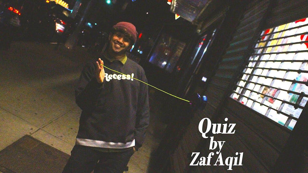 Quiz by Zaf Aqil