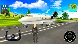 محاكي طائرات حقيقية  الطيران العاب سيارات - لعبة Airplane Flight Pilot Simulator Android gameplay
