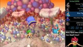 Tomba 100% - (1:50:54 real time, 1:18 game time)