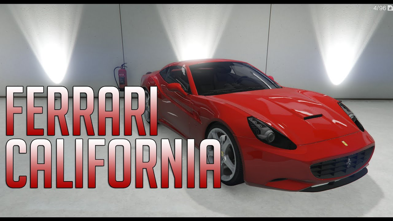 GTA V 2012 Ferrari California MOD - YouTube