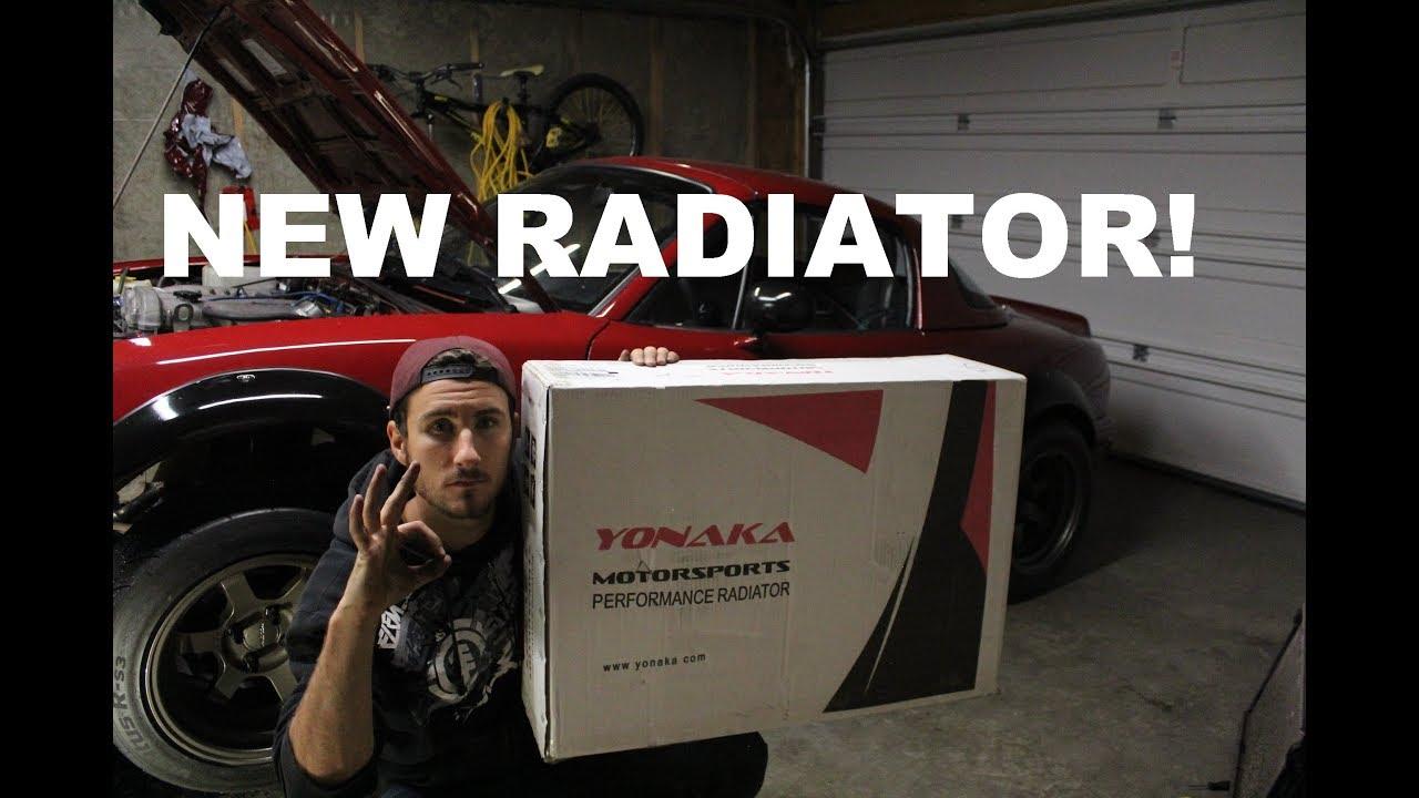 MIATA ALUMINUM RADIATOR INSTALL | YONAKA MOTORSPORTS