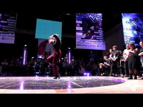 Mariella vs Olko - Waacking 1/8 | Explosion Battle 2016 | Cherkassy, Ukraine from YouTube · Duration:  1 minutes 26 seconds