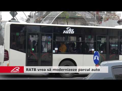 RATB vrea să modernizeze parcul auto