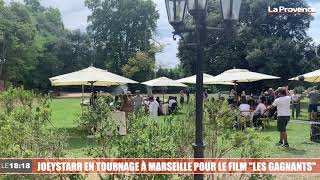 """JoeyStarr en tournage à Marseille pour le film """"Les Gagnants"""""""