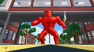 HOW TO BE THE DEVIL IN ROBLOXIAN HIGHSCHOOL!!