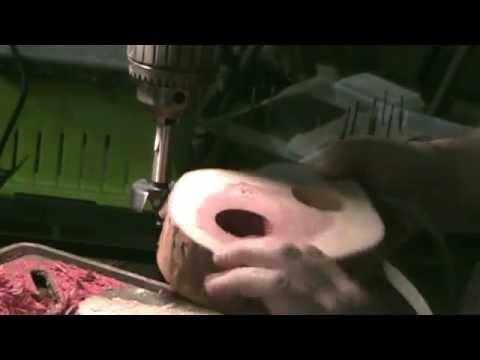 JND Woodturning: Cedar Tea Light and Coasters