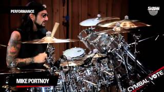 "CYMBAL VOTE - Mike Portnoy Performs ""Indifferent"""