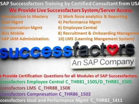 SAP SuccessFactors Training: April 2016