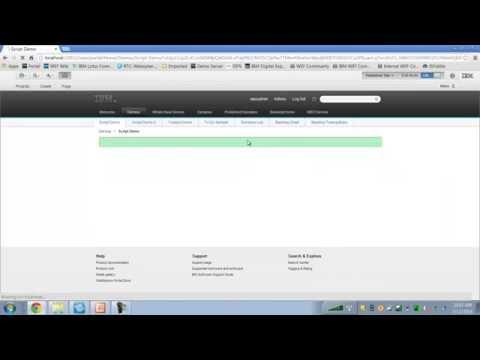 Demo of IBM Script Portlet for WebSphere Portal