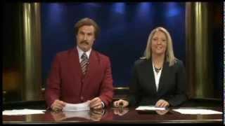 ron burgundy anchors the news in north dakota highlights