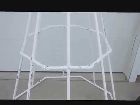 Pvc Spiral Tree Dimension Of Frame Youtube