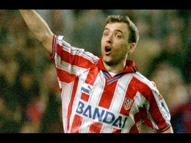 Milinko Pantic: goles en el Atlético de Madrid