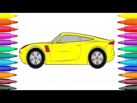 How To Drawing Cars 3 Cruz Ramirez Coloring Pages How To Coloring Cruz Ramirez Funny Coloring Book