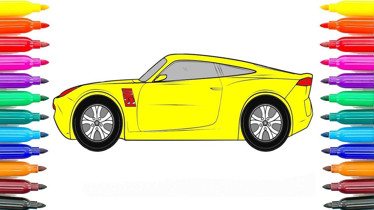 Wie Zeichnen Autos 3 Cruz Ramirez Malvorlagen Wie Färbung Cruz ...