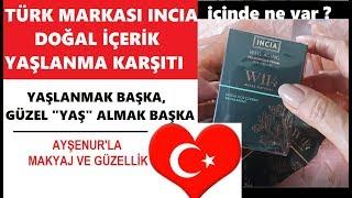 INCIA Tertemiz İçerikli Bir  Türk Markası Yaşlanma Karşıtı Serisi