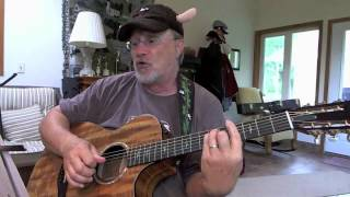 848 - Purple People Eater - Sheb Wooley cover with chords and lyrics in the description.