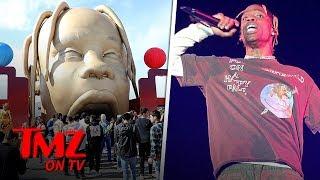 Travis Scott Fans Lose Their Mind When Show Is Canceled | TMZ TV