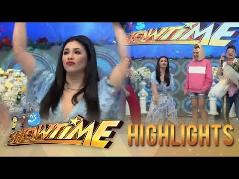 "It's Showtime: Songbird Regine Velasquez Does ""Taga Saan Ka"" Challenge"