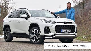 2021 Suzuki Across - The Toyota RAV4 Plug-in Hybrid Clone: Full Review, Test Drive