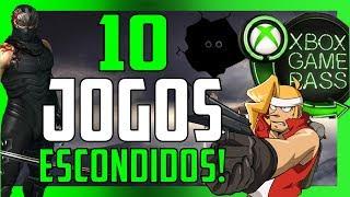 BAIXE E JOGUE esses 10 JOGOS SECRETOS no XBOX GAME PASS! SEGREDO REVELADO!