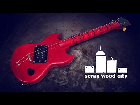Making an experimental mini electric guitar