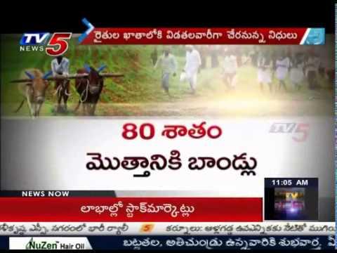 Implementation of Crop Loan Waiver Scheme in AP : TV5 News