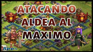 Ataque en campeon aldea al maximo - Mundo Clash of Clans