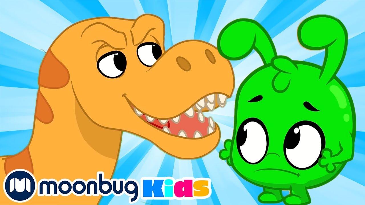 Orphle vs The Dinosaurs - My Magic Pet Morphle | Cartoons For Kids | Moonbug Kids