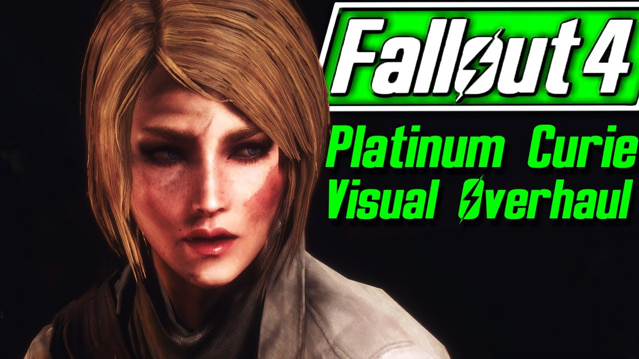 Fallout 4 - PLATINUM CURIE - The Return - Deeper Thoughts & Valkyr Female  Face