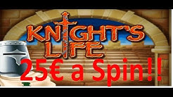 Knights Life BONUS on 25 EURO BET!!!
