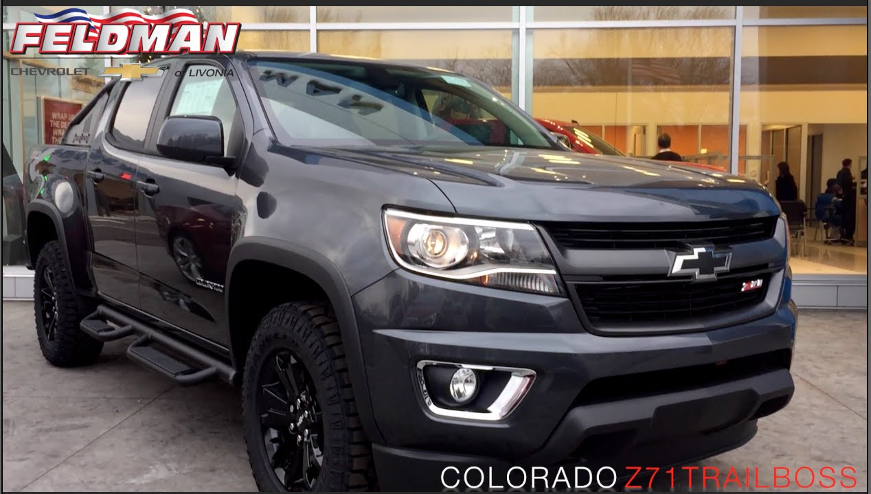 2016 chevrolet colorado z71 trail boss michigan youtube. Black Bedroom Furniture Sets. Home Design Ideas