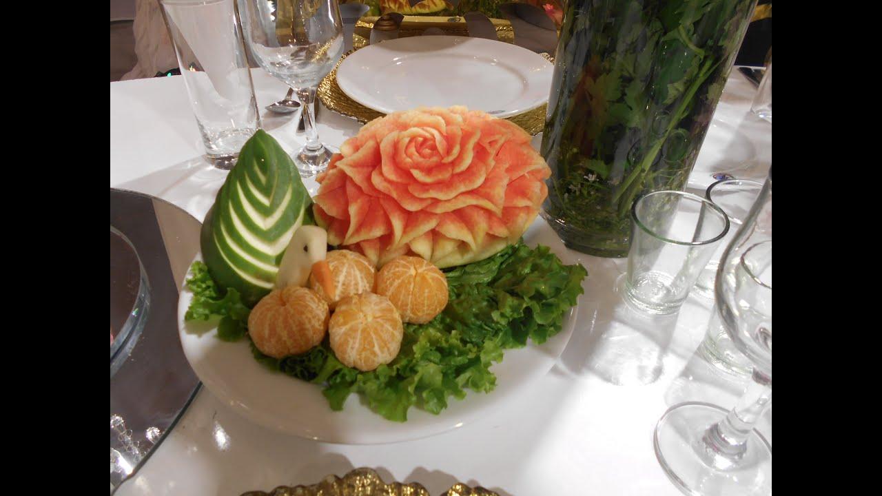Holuder Decoration Holuder Table Gaye Holuder Jonno Fruit Carving