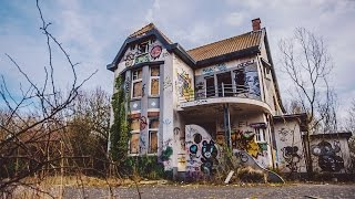 ABANDONED GHOST TOWN, DOEL, BELGIUM