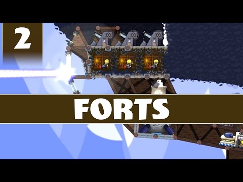 Forts Gameplay - Multiplayer with Kailvin - Part 2 of 2