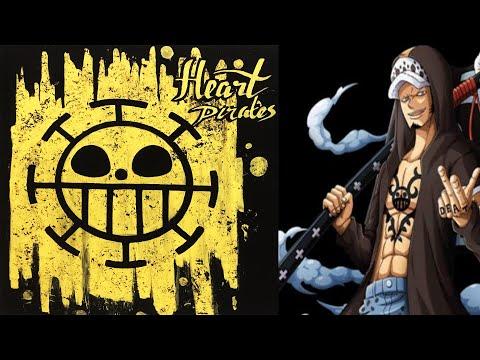 pembuatan-logo-bajak-laut-trafalgar-law-(-heart-pirates-)-one-piece-dengan-cat-tembok