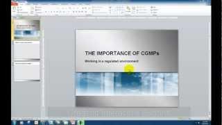 Créer des Boutons Interactifs et des Déclencheurs dans Powerpoint 2010