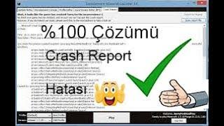 Minecraft Crash Report Hatası %100 Çözüm 2018