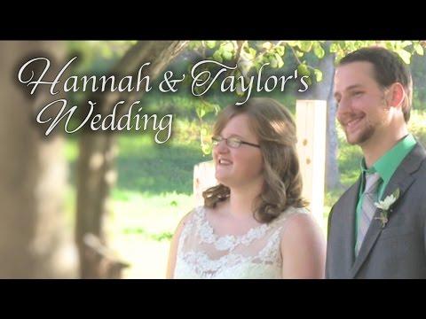 Hannah & Taylor's Wedding