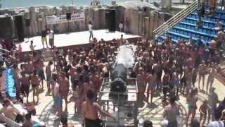 Foam party aqua park Istanbul 2013 !
