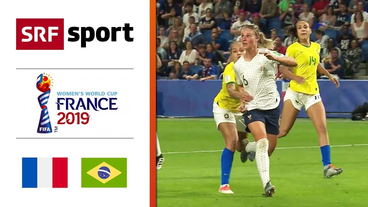 Frankreich - Brasilien 2:1 nV | Highlights - Frauen Fussball-WM 2019 - Achtelfinal
