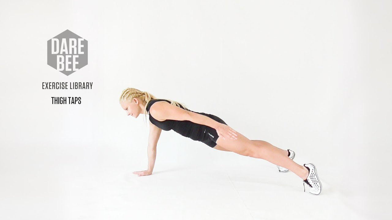 Exercise Library: Thigh Taps - YouTube