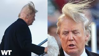 Is President Donald Trump's Hair Real Or Fake?! | What
